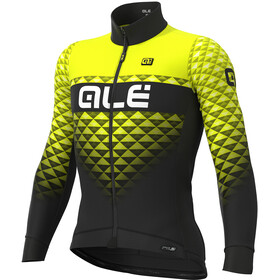 Alé Cycling PR-S Hexa DWR Jersey Men black-fluo yellow